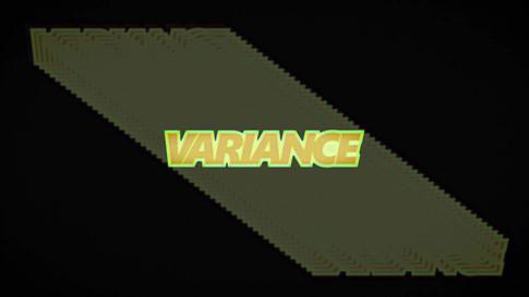 Variance Film Title Animation