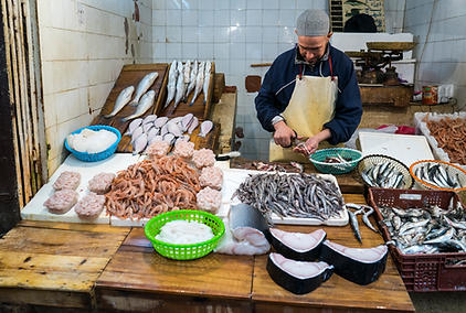 Moroccan Fish Stand