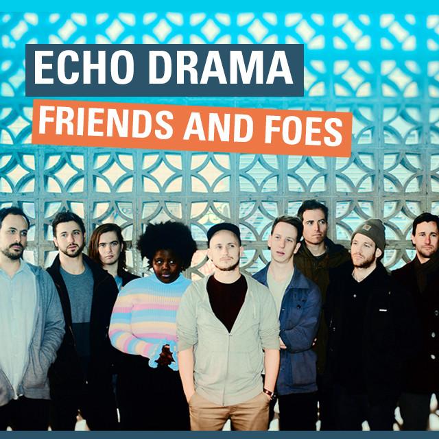 Echo Drama Single Album Cover