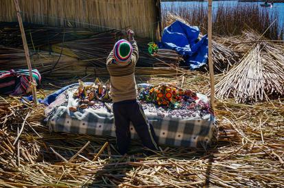 Uros, Lake Titicaca