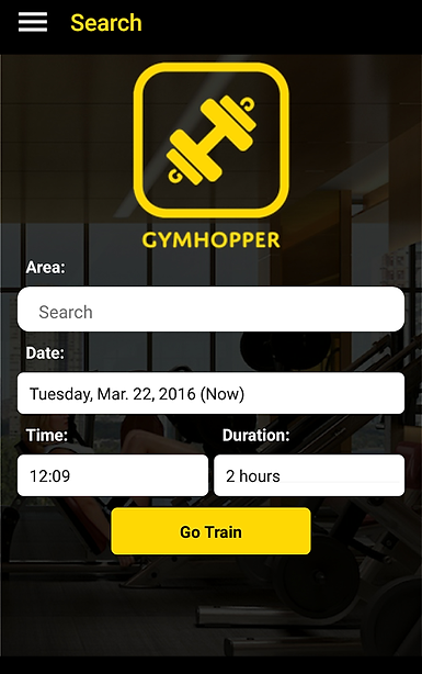 Gym Hopper APP