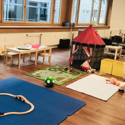 Diis Fitness Kinderbetreuung