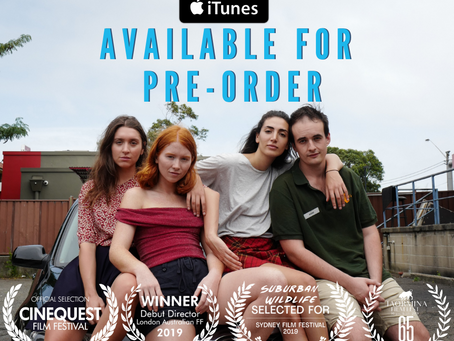 Suburban Wildlife Available for Pre-Order Internationally
