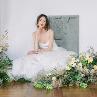 Silvia Valli - Abito da sposa in tulle