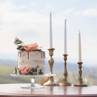 Silvia Valli - Toscana - torta decorata con fiori