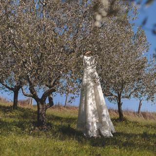 Silvia Valli - Abito da sposa in Toscana
