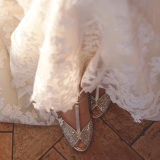 Silvia Valli - abito da sposa ricamato