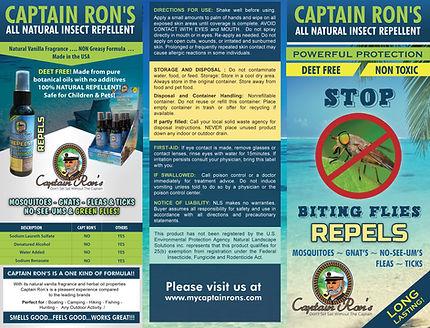 Captain Ron's Brochure top