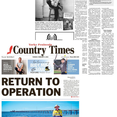 AuG Featured in The Country Times