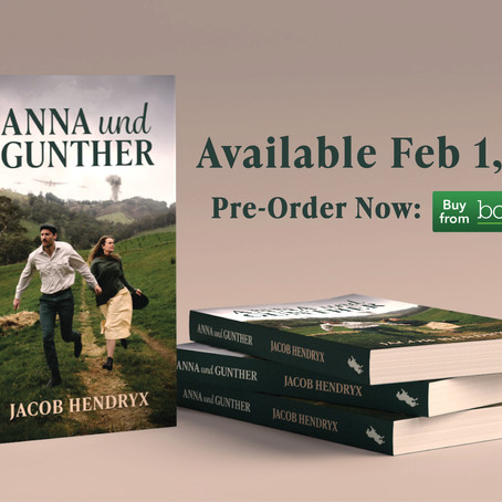 Save the Date. Pre-Order NOW.