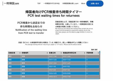 成田空港のPCR検査平均待ち時間が増加 コロナ禍最大数の帰国データで見る先週(2/15〜2/21)の最新統計