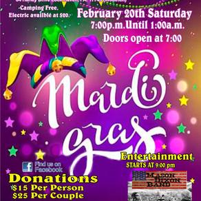 Mardi Gras Party • February 20, 2021