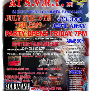 2019 4th of July Party • July 5-7, 2019