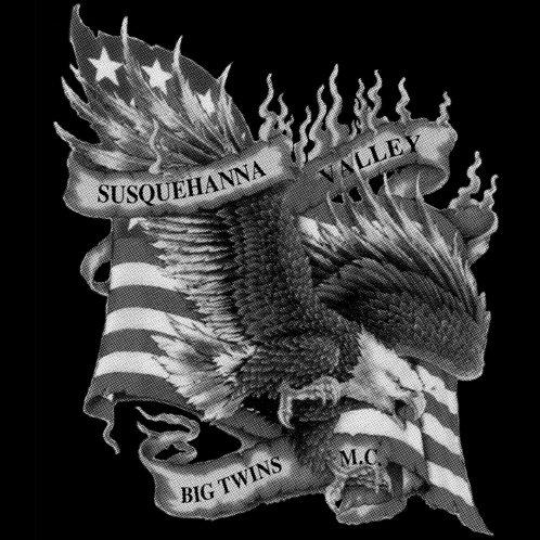 Eagle Flying From Flag - T-Shirts & Sleeveless