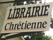 enseigne librairie chrétienne de Brive