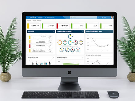 Corporate-Strategy-Performance-Dashboard