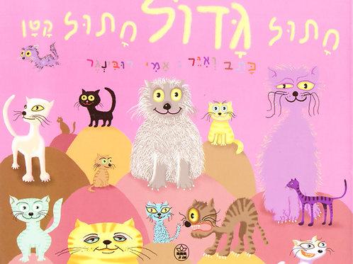 חתול גדול חתול קטן / אמי רובינגר - קשיח
