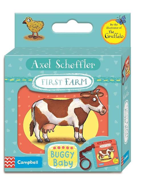 First Farm- Buggy Book / Axel Scheffler