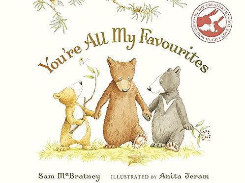 You're All My Favourites / Sam McBratney - BoardBook