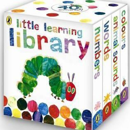 Little Learning Library - The Very Hungry Caterpillar / Eric Carle