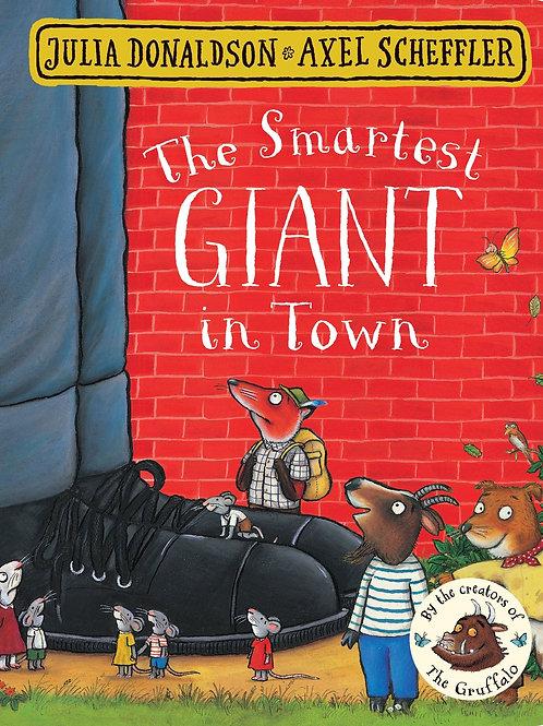 The Smartest Giant in Town / Julia Donaldson - BoardBook