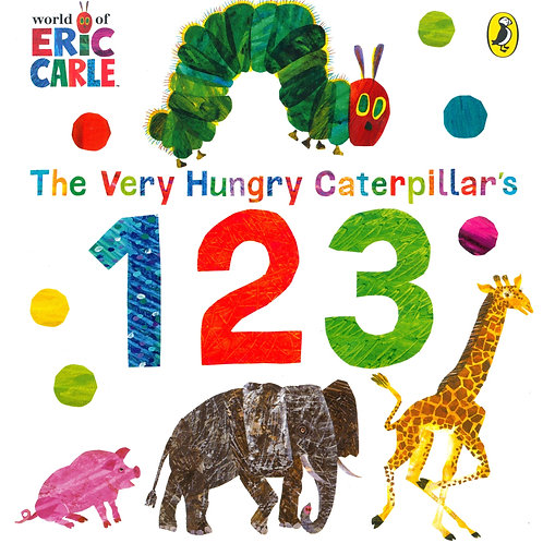 123 -  The Very Hungry Caterpillar / Eric Carle