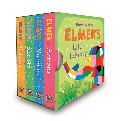 Little Library - Elmer / David McKee