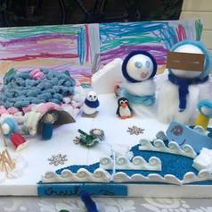 Diorama del ártico