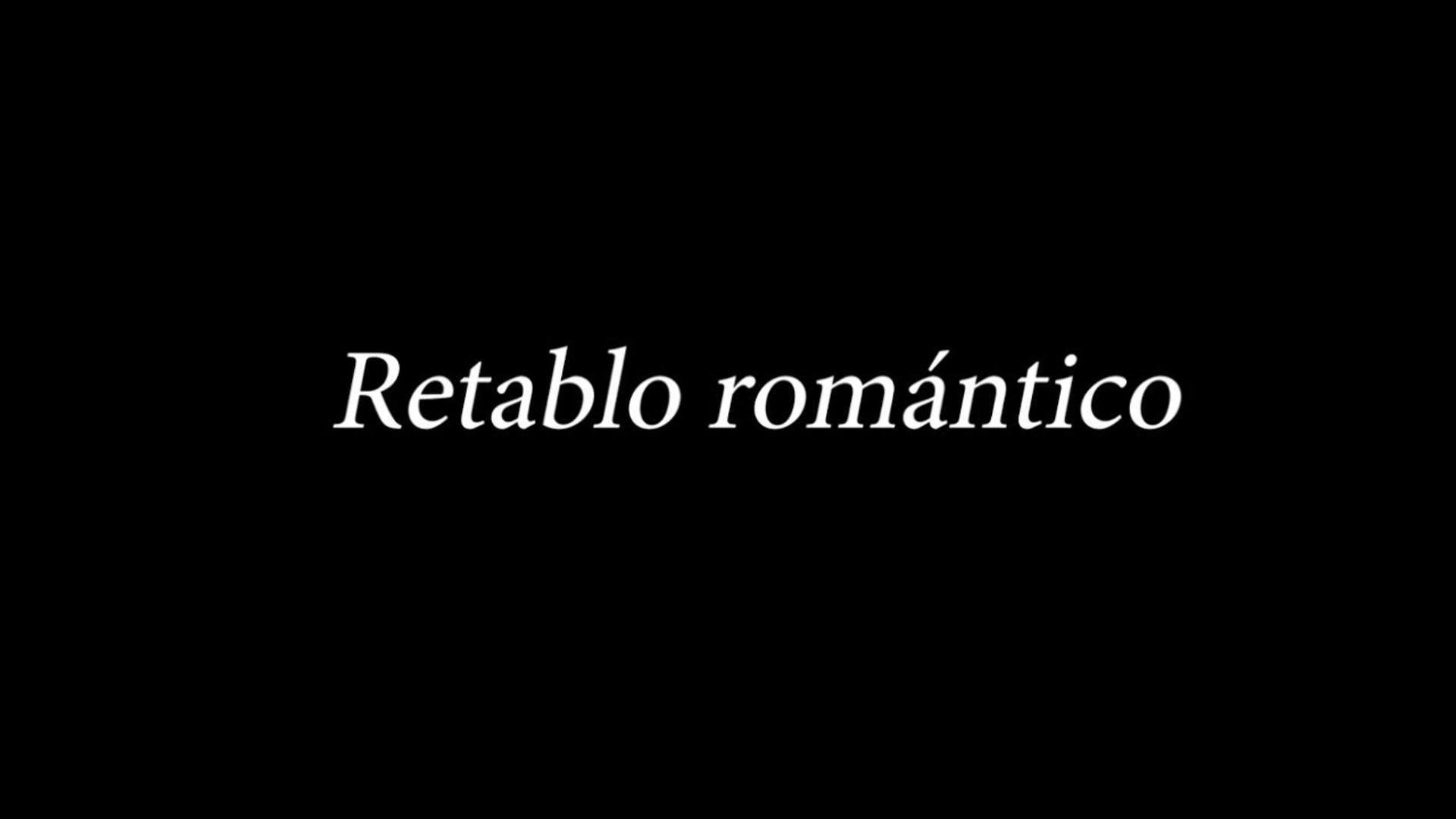 """""""Retablo romántico"""" de Uberto Zanolli (OCENP-UNAM)"""