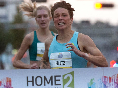 Nikki Hiltz breaks state record in Yakima Mile, earns $10,000