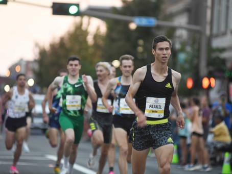 Sam Prakel wins Downtown Yakima Mile, while Nikki Hiltz earns bonus for fastest women's road mile
