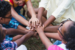african-american-children-having-fun-par