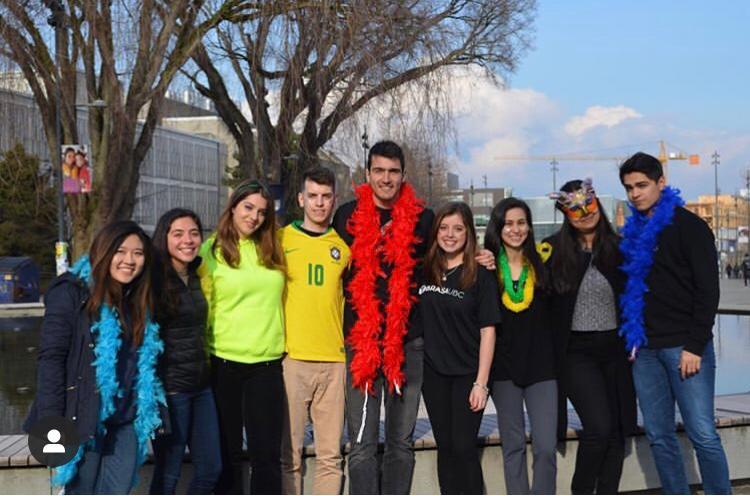 Membros da BL da University of British Columbia
