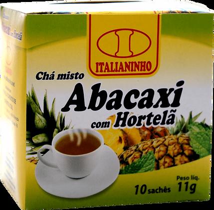 Chá Abacaxi com Hortelã