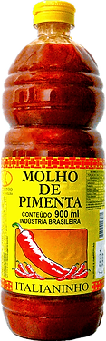 Molho de Pimenta 900ml Italianinho