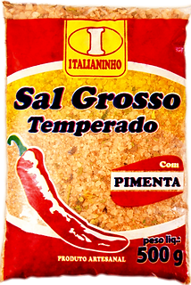 Sal Grosso com Pimenta Italianinho