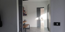 NEW internal communication from the kitchen to the bedrooms 2 and 3 (pink & yellow bedrooms)