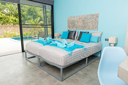 Turquoise bedroom - King size - N1