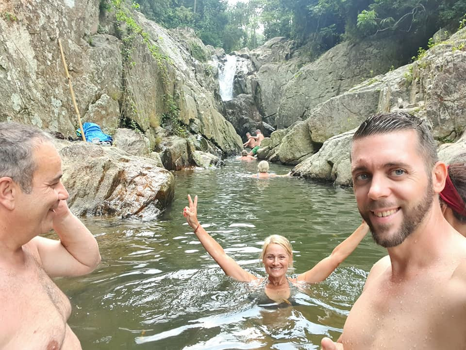 Mountain waterfalls - Koh Samui