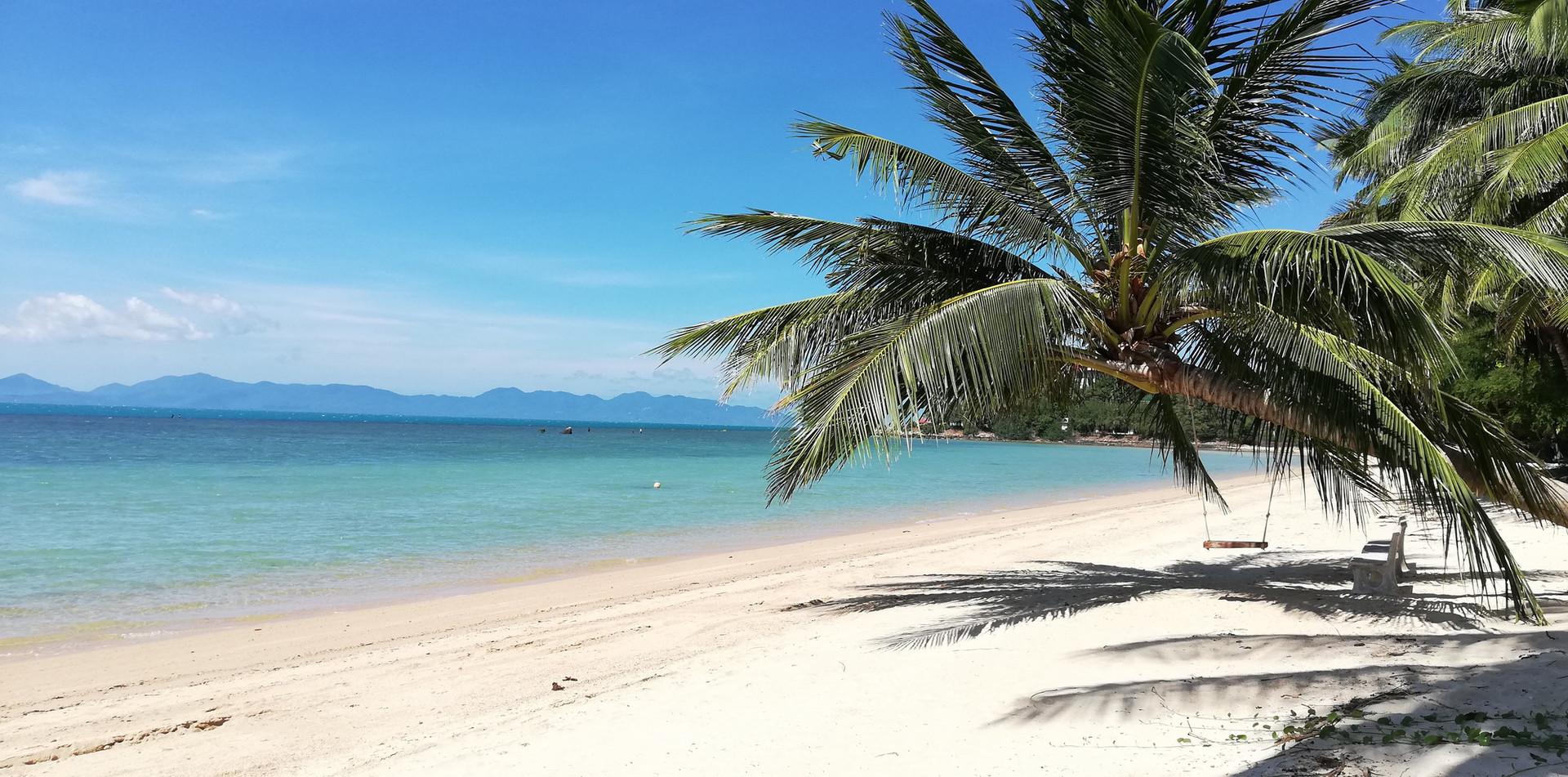 Bangpor beach lagoon