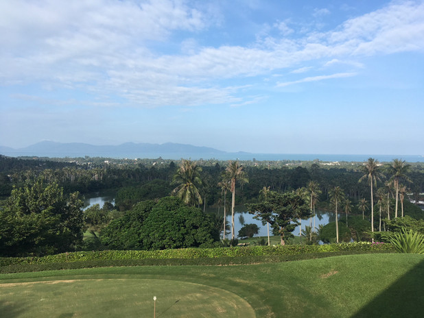 Santiburi golf club Koh Samui