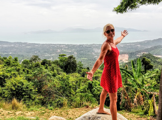 On the top of Koh Samui - Best view