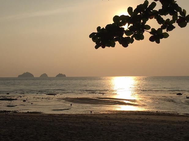 Bangpor beach sunset Koh Samui