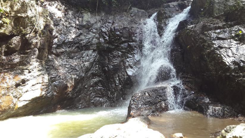 Khun Si waterfalls Koh Samui Thailand