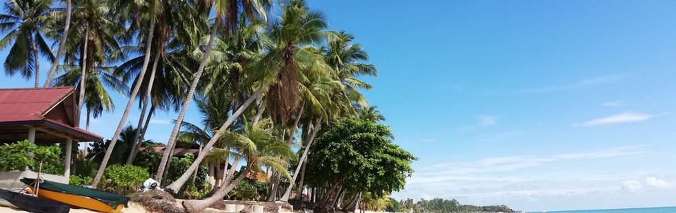 Maenam Beach - 9 min drive