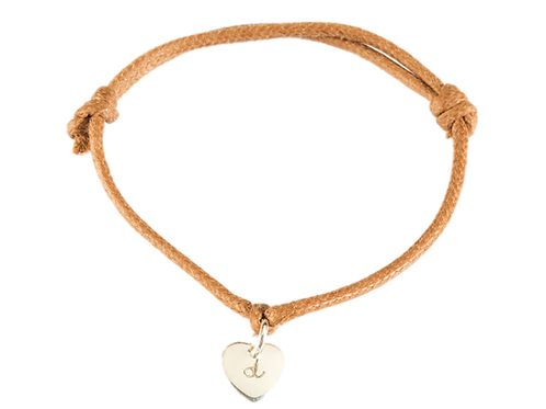 Mini heart bracelet 18k gold plated