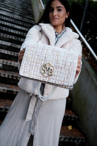 Save My Bag Charlotte Midi Tweed