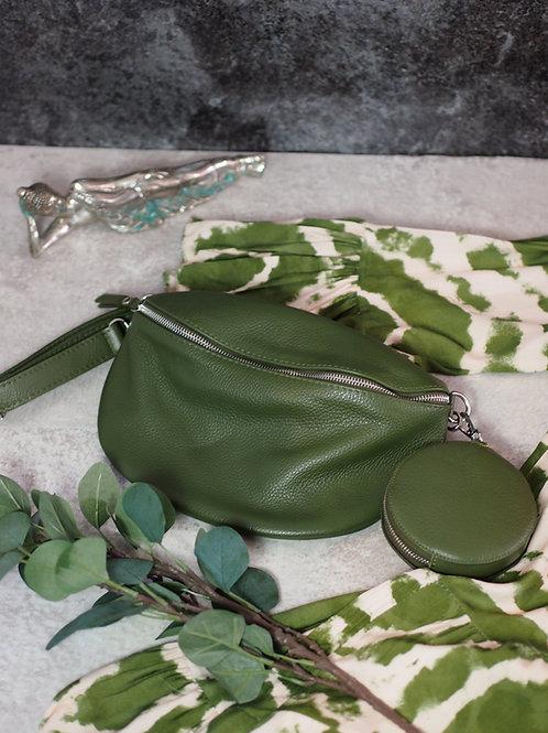 Crossbody/Belt Bag Leather Large