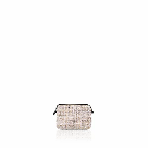 Save My Bag Pouch Bianca Mini Tweed