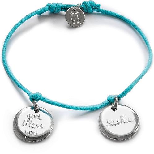 Pelinabijoux Paris Two Charm Bracelet Silber